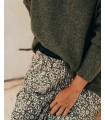 Falda midi plisada - Nuria